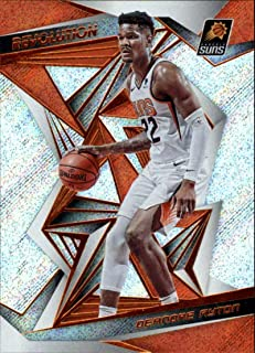 2019-20 Panini Revolution Basketball #57 Deandre Ayton Phoenix Suns Official NBA Trading Card (Scan Streaks are NOT on the card)