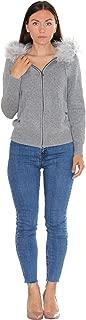 Winter Fur Hoodie - 100% Cashmere
