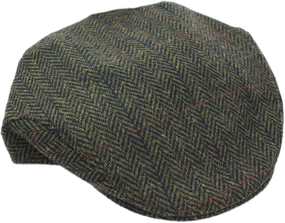 Herringbone Cap Men's Wool Classic High quality Slim Elegant Designed Fit Irel in