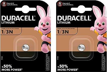2er Set Duracell Lithium Batterie Cr 1 3 N Computer Zubehör