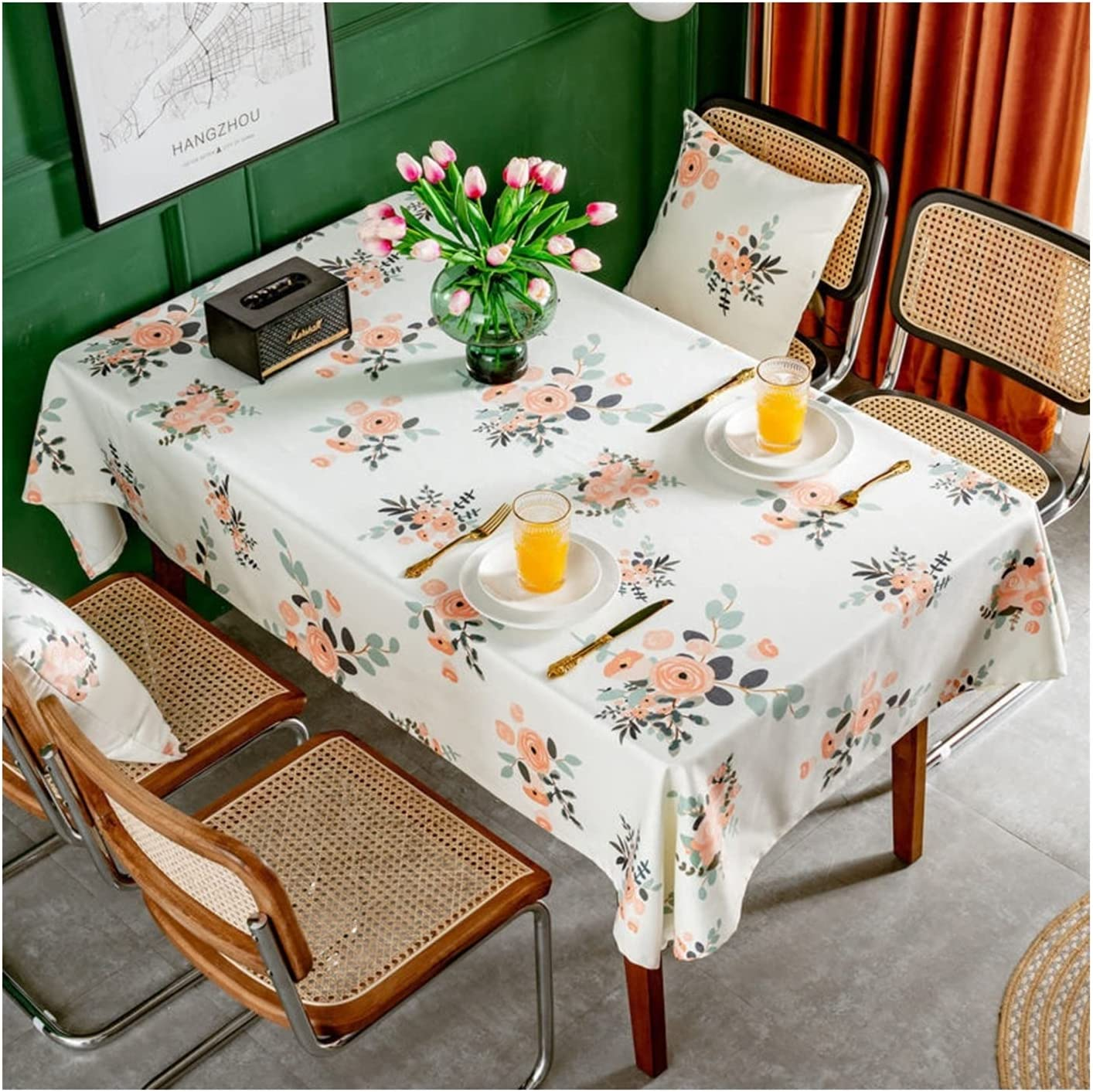 HZYAN Table Cover New popularity PVC Tablecloth Limited Special Price for Waterproof