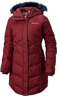 Women's Lay D Down II Mid Omni Heat Hooded Winter Jacket (Small, Rich Wine)