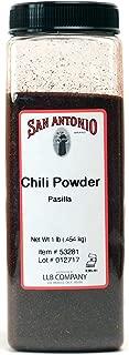 16 oz Premium Ground Dark Pasilla Chile Pepper Chili Powder
