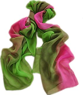 Gradient Colors Chiffon Scarves - Sun Protection, Cycling, Beach Towels