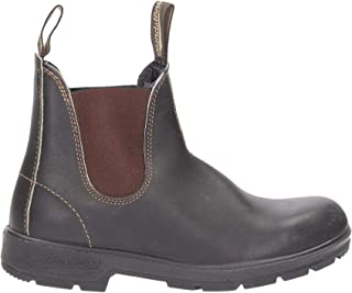 Luxury Fashion | Blundstone Men BCCAL00100500888 Brown Leather Ankle Boots | Autumn-winter 19
