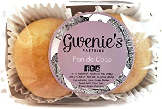 Gwenie's Pastries Pan De Coco 1 Pack (2 Pieces Per Pack)