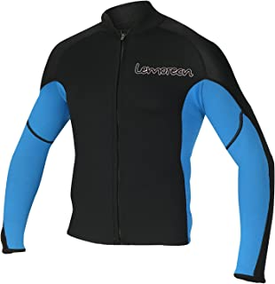 Men's 2mm Wetsuits Jacket Long Sleeve Neoprene Wetsuits Top