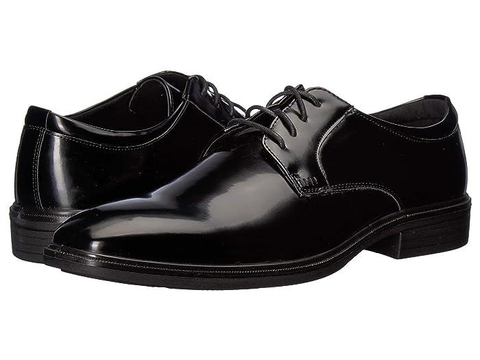 1950s Mens Shoes: Saddle Shoes, Boots, Greaser, Rockabilly Deer Stags Tallon Black Mens  Shoes $37.75 AT vintagedancer.com
