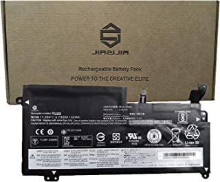 JIAZIJIA 01AV401 Laptop Battery Replacement for Lenovo ThinkPad 13 Chromebook S2 2016 Series Notebook SB10J78998 01AV400 SB10J78997 01AV402 SB10J78999 Black 11.25V 42Wh 3735mAh 3-Cell