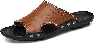 صنادل دانتو الشرائح للرجال جلد شباشب الشاطئ الصيف فليب فلوب أحذية مائية