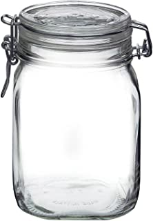 Bormioli Rocco Fido Canning Jar 1.4922, 1L, 1 l
