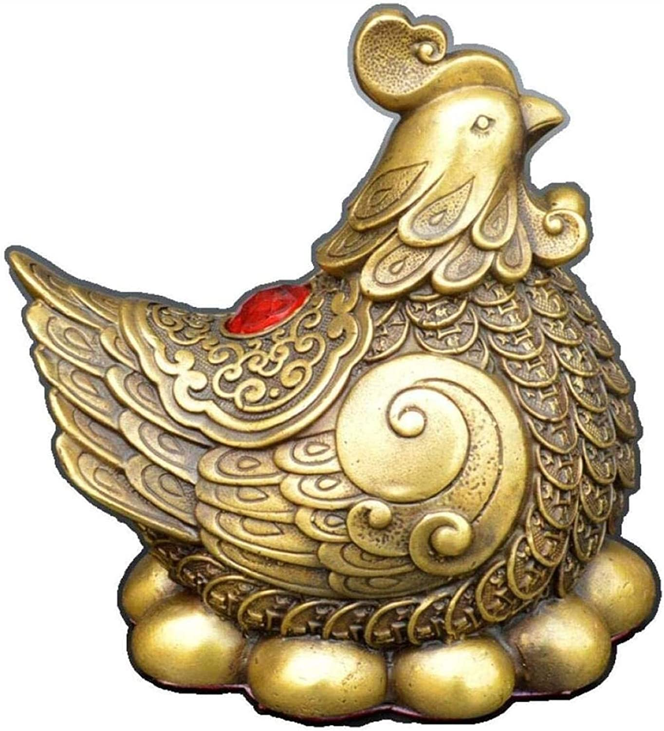 Ranking TOP18 FLYAND Statues Figurines Home Accessories Pure Copper Go Max 73% OFF Antique