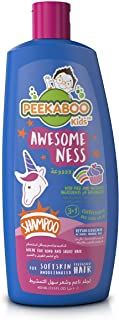 Peekaboo Kids 3 In 1 Shampoo, Conditioner And Body Wash, Awesomeness, 400 ml