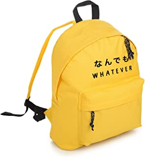 Whatever Backpack School Bag Tumblr Hipster Grunge Goth Japanese Kawaii Symbol