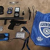 PC POLIZEI WPC POLIZIST Spielzeug BATON COP #DE Fälschung KNÜPPEL