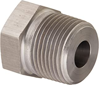 Brennan Industries 5406-20-04-SS Stainless Steel Reducer Bushing Fitting 1-1//4-11-1//2 NPTF x 1//4-18 NPTF Thread