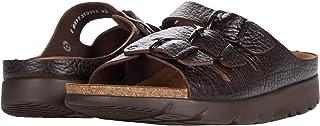 Mephisto Men's Zach Tan Full Grain Leather Sandal