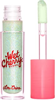 Lime Crime Wet Cherry Lip Gloss, Minty Cherry - Sparkly Mint - High Shine, Non-Sticky Gloss - Cherry Scent - Lightweight, ...