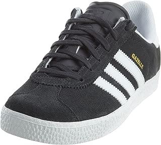 adidas Boys' Gazelle C Sneaker, Collegiate Navy/White/White, 2 M US Little Kid