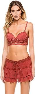 Women's Sophia Crochet Bustier Bikini Top with Underwire