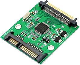 SinLoon SATA 22 Pin to 50pin 1.8 Inch IDE CF Hard Drive SSD Adapter Convertor Card PCBA Compact Flash Typ(SATA M to CF M)