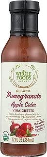 Whole Foods Market Organic Pomegranate Apple Cider Vinaigrette, 12 oz