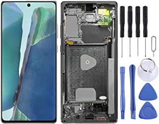 SHUHAN Mobile Phone Replacement Part new LCD Screen and Digitizer Full Assembly With Frame for Samsung Galaxy Note20 SM-N9...