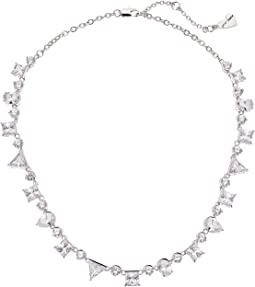 Blue by Betsey Johnson Collar with Mixed Shape Cubic Zirconia Stones Necklace