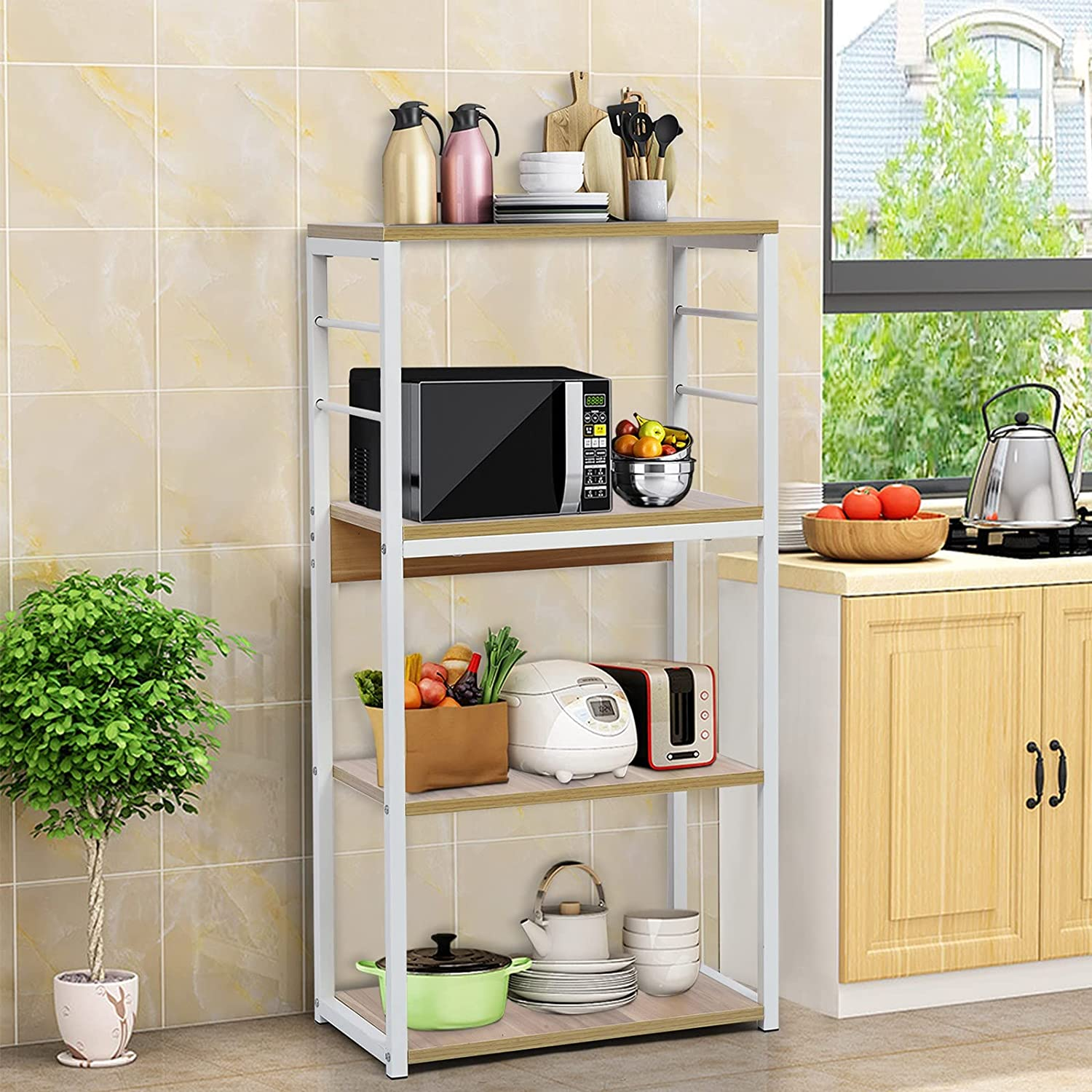 Kitchen Baker's Rack Microwave High shopping quality Stand Oven Industrial Kitche