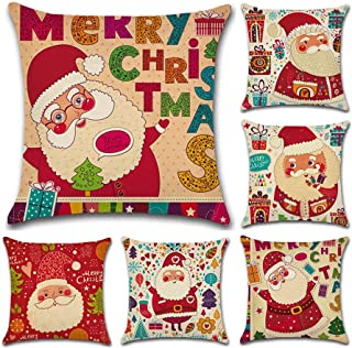 Fundas Cojin Serie De Navidad 6 Pieza 45x45 cm (18x18