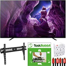 Sony XBR55A8H 55-inch A8H 4K Ultra HD OLED Smart TV (2020) 4K X-Reality Pro Bundle with TaskRabbit Installation Services +...