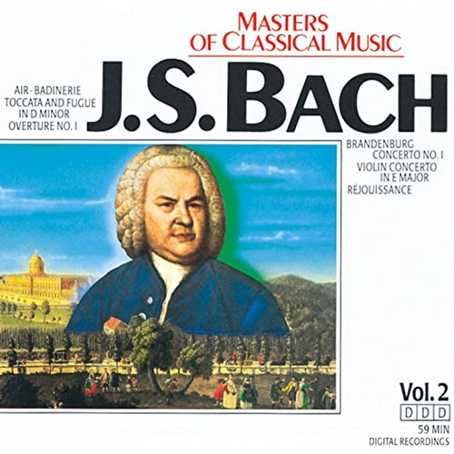 Masters Of Classical Music: Johann Sebastian Bach by Various