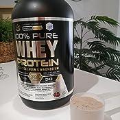 Whey Protein   Proteina whey pura con colágeno + magnesio   Tonifica y aumenta la masa muscular   Protege músculos y ayuda a la recuperación de los ...