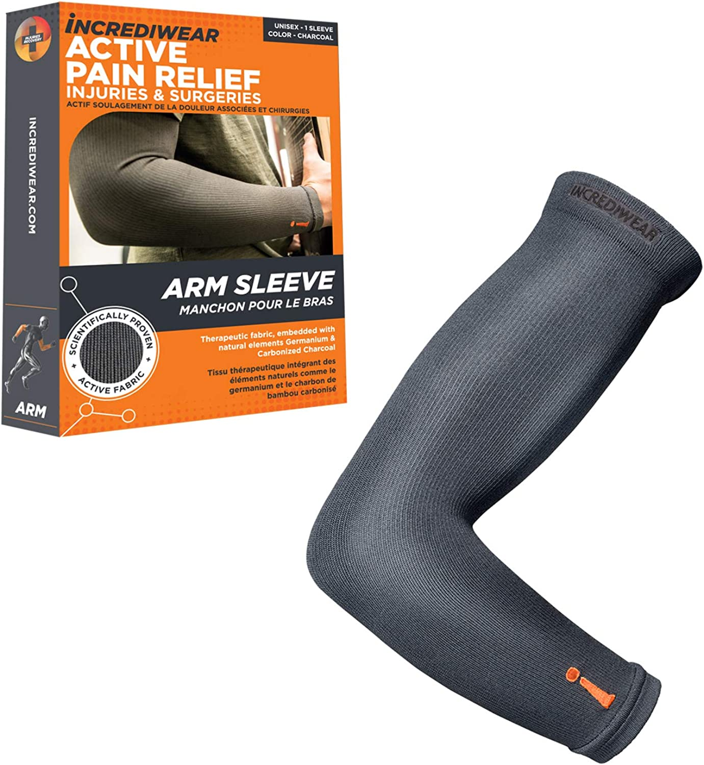 Incrediwear Arm Sleeves For Super special price Men Philadelphia Mall and Help to Women Recover Muscle