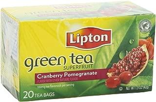 Lipton Cranberry Pomegranate Green Tea (Pack of 2)