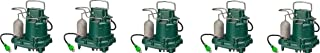 Zoeller M63 Premium Series 5 Year Warranty Mighty-Mate Submersible Sump Pump, 1/3 Hp (Pack of 5)
