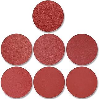 70pcs PSA Sanding Discs 6 Inch, 120/180/240/320/400/600/800 Grit Adhesive Backed for Random Orbital Sander