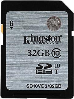 Kingston SD10VG2/32GBFR SD Card 32GB Class 10 UHS-I SD10VG2/32GBFR