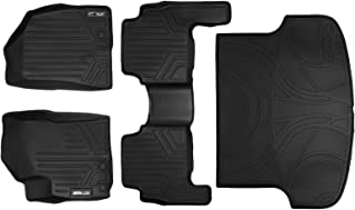 MAXLINER Floor Mats 2 Rows and Cargo Liner Set Black for 2011-2013 Kia Sorento without 3rd Row Seats