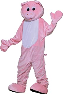 Inc - Pig Plush Economy Mascot Adult Costume