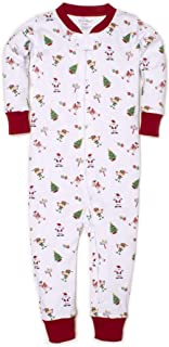 Kissy Kissy Unisex-Baby Infant Holidaze Print Playsuit with Zipper