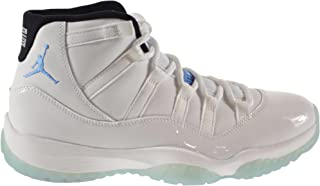 Air 11 Retro Men's Shoes White/Legend Blue-Black 378037-117 (9.5 D(M) US)