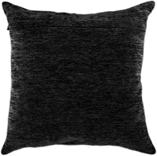 Black. Chinnelly Backing for Throw Pillow Kits 16 � 16 inches (with Zipper) from Europe