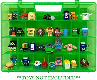 Life Made Better's Portable Toy Organizer Box, Carries Over Thirty Toy Figurines, Secure Fastening System Plus Carrying Handle, Compatible with Transformer BotBots Toys - Toys Not Included