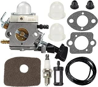 Carburetor with Air Fuel Filter Gasket Primer Bulb for Stihl Blower SH56 SH56C SH86 SH86C BG86 BG86CE BG86Z BG86CEZ Zama C1M-S261B 42411200616 4241 120 0616 Leaf Blower Carb
