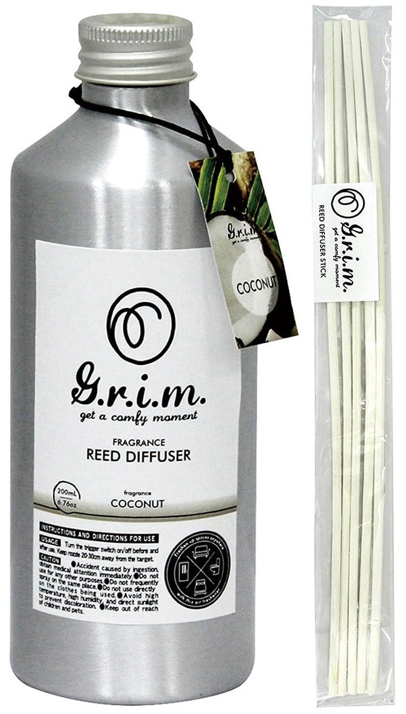 オセアニアカロリー軽くノルコーポレーション リードディフューザー g.r.i.m ココナッツ 180ml OA-GRM-4-4