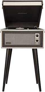 Crosley CR6233D-BK Dansette Bermuda Portable Turntable with Aux-in and Bluetooth, Black