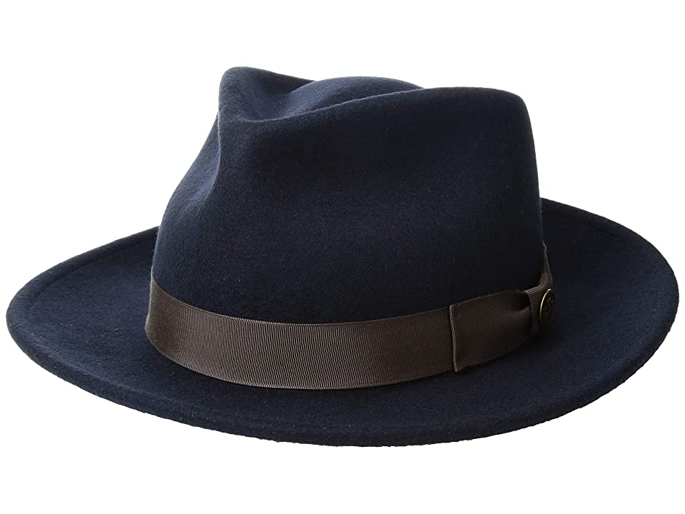 1950s Mens Hats | 50s Vintage Men's Hats Goorin Brothers The Saloon Navy Caps $98.00 AT vintagedancer.com