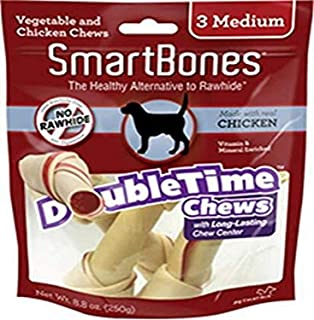 Smartbones Doubletime Long Lasting Center Chicken - 10.99