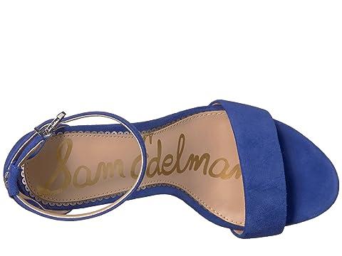 Suede Edelman para Blue Yaro Leather correa talón tobillo el Sam Sandalia Sailor Kid xARgx